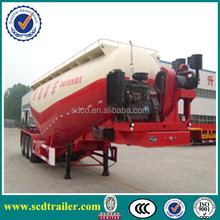 EC Euro Type Approval Certification bulk cement trailer 3 axles 28-45tons bulk trailer