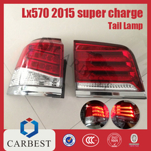 High Quality New Red 2015 Lexus Lx570 Supercharger Tail Lamp for Lx570 2008-on