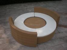 Ellie Garden furniture Rattan/wicker Combined Round Sofa Resort Furniture