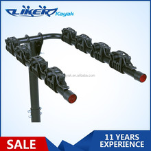 2013 Hot Sale Four Bicycle Hitch Mounted Rack Kayak Rack