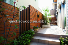carbonized wood thermowood-Scots-pine fence