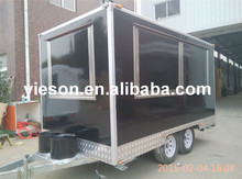 Yieson 2015 Fiber Glass gelato cart kebab van for sale trucks and trailers YS-FB400
