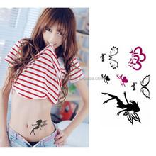 High Quality Temporary Sticker Body Art Tattoo Stencil