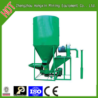 Small animal feed mixer grinder equipment for poultry farm