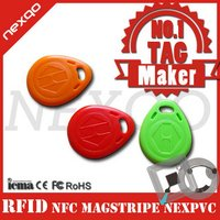 HOT! 13.56Mhz MIFARE Classic 1K RFID key fob/key tag special offer