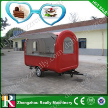 Mobile breakfast ice cream food cart for sale