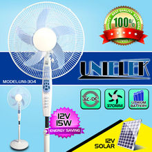 12v dc electric fan rechargeable battery operated portable fan emergency