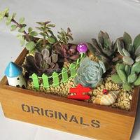 best-selling home decor handicrafts wooden FlowerBox