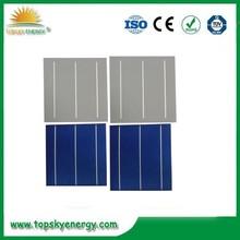 156 x 156 policristalino solares celdas fotovoltaicas