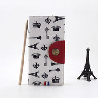 LANGUO fabric cover a5 size notebook/writing note book for teenager model:LGFL-2819