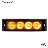 New arrival high brightness 12w car DRL turn flash LED Signal Light 12v