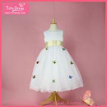 Ankle length girls dresses, one shoulder flower girls dresses,fairy dresses for 1-9 year girls