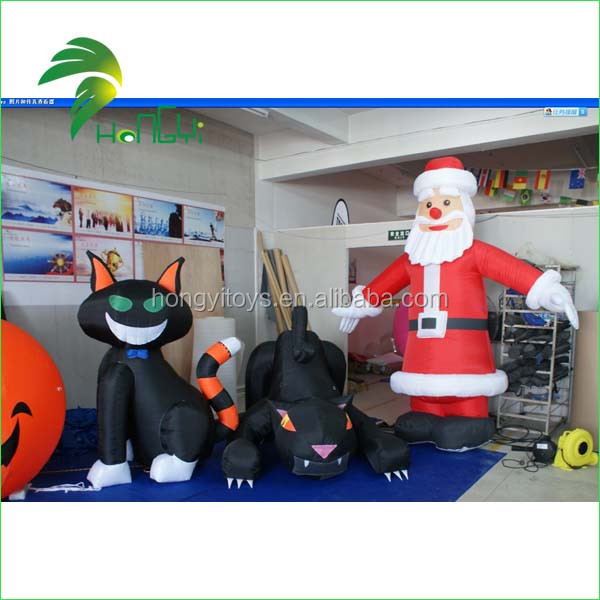 Inflatable Hallowmas Cat (2)
