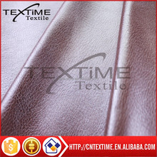 100% polyester sofa fabric bronzing suede in fake leather