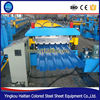 Double Layer Corrugated Sheet Metal Roof Machine