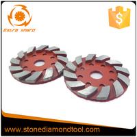 30# Grit Medium Bond 12 Segments 3 Inch 80mm Diamond Velcro Backed Metal Grinding Disc for Concrete Floor Finishing