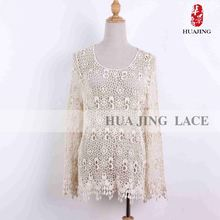 Stylish Suppor Materials Luxury Quality Off White Lace Bridal Wedding Dress
