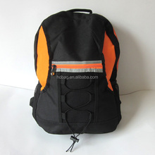 High quality black color 600D oxford Reflective PVC Middle School student backpack