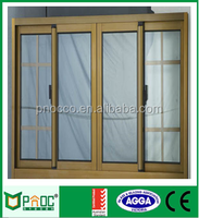 Aluminum Alloy Profile for Sliding Windows and Doors with AS2047/AS2208 Certificates and Powder Coated Brown Color PNOC0039SLW