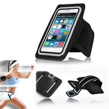 Sport Armband Jogging Case, Hot-Selling Neoprene Running Armband Bag Case Strap Holder