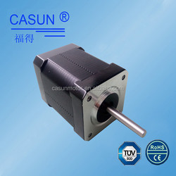 42mm*60mm 83.26 oz-in nema 17 bipolar 3d printer step motor , 1.8 degree stepper motor with 200 steps