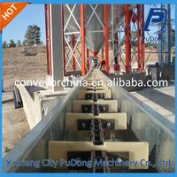 China efficient cast stone chain scraper conveyor for sale