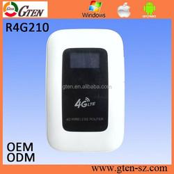 FDD B3/B7/B20/B5 TDD B38/B39/B40/B41 mini wifi 4G LTE Router with sim card slot mobile hotspot from manufacturer