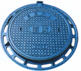 cast iron double seal manhole cover