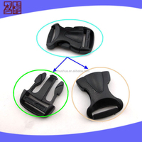colored plastic backpack buckle ,plastic bag buckle,safety side release buckle for bag