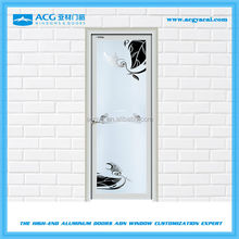 Good quality Fluorocarbon treatment aluminum household swing door
