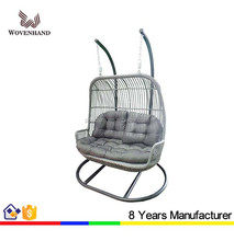 2015 leisure durable Double Swing Chair for garden used