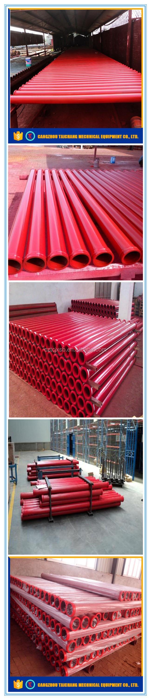 Bom preço de atacado tubo de concreto armado com vida longa do uso