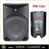 PW-15A PW-15 Professional pa plastic molded speaker cabinet