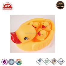 ICTI Factory Custom Family Ducks Floating Promotional Bath Toy