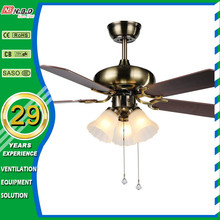 pull switch 42inch electric modern decorative ceiling fan light
