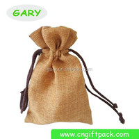 Promotional Natural Gift Jute Bags Wedding