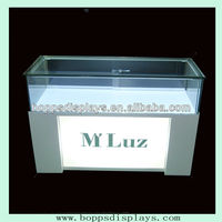 Glass watch display cabinet for shopping mall