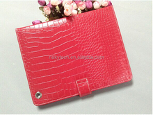 Wholesale smart crocodile leather case surface paint leopard stand leather case for ipad 5