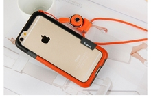 Double color Hot Selling Wholesale Cell Phone Case With Necklace