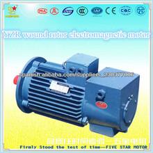 Motores eléctricos torre YZR355L2-10 135KW giratorio para la grúa rotor bobinado