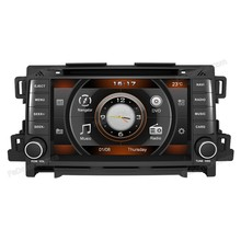 Car Radio Auto Audio Stereo Multimedia DVD Player GPS Navigation for Mazda CX-5