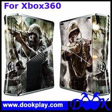 Colorful Skin sticker For Microsoft Xbox360 Xbox 360 Slim console and controller