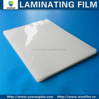 glossy/matt/sticky back thermal film with 75-350mic thickness for market