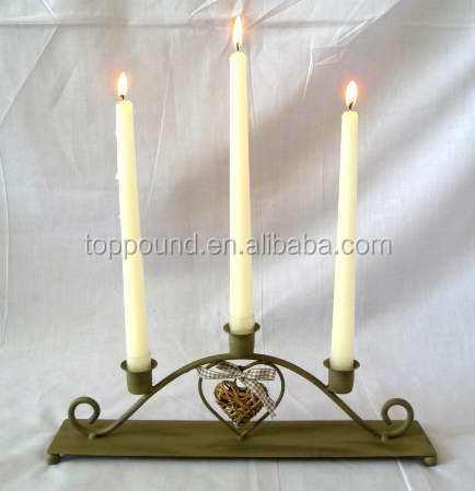 Mimbre colgante corazón 5 vela stick pc porta vasos candelabros ...