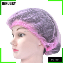 HIKOSKY pink disposable weaving net cap