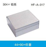 Aluminum case 44*90*Random