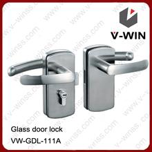 vidrio de la puerta con cerradura de la manija