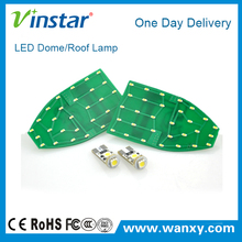 CE ROHS Newest auto car led dome roof lights SMD 3528 SMD3014 high brightness car interior reading lamp for BEN.Z W211