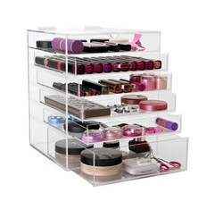 new design 5 tiered makeup case