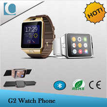 latest wrist touch screen China watch phone pedometer mobile phone watch for samsung galaxy gear 2